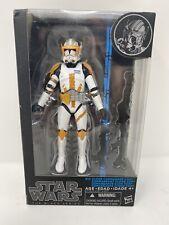 "Star Wars Black Series #14 Clone Commander Cody New In Box 6"""