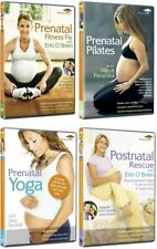 The Complete Pregnancy Workout Collection Yoga Fitness Pilates R4 New DVD 4Discs