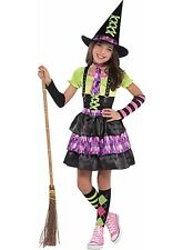 Spellbound Witch Girls Halloween Costume Lg 12-14 No Stockings/Arm Warmers #1271