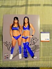 "The Bella Twins Signed WWE 11"" x 14"" Photo (Brie & Nikki Bella, PSA/DNA AA57900)"