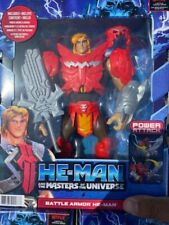 """HE-MAN AND THE MASTERS OF THE UNIVERSE BATTLE ARMOR HE MAN 8.5"""" FIGURE NETFLIX"""