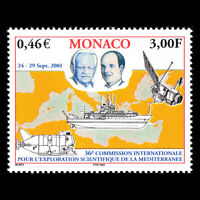 Monaco 2001 - Scientific Exploration of the Mediterranean Meeting - Sc 2223 MNH
