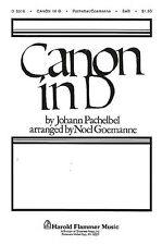 Johann Pachelbel Canon In D SAB Vocal Choral Voice Learn Play Piano Music Book