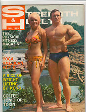 Strength & Health Bodybuilding Muscle Weightlifting Magazine Bill St John 2-69
