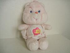 "11"" Vintage Care Bears Plush ~ Baby Hugs Bear Wears Diaper Plush Stuffed Animal"