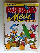 paperino mese N° 71 - walt disney - mondadori (formato almanacco paperino)