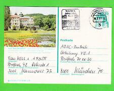 Bad Salzschlirf Bildpostkarte Ganzsache Bedarfserhaltung stampsdealer