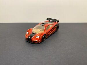 Hot Wheels McLaren F1 GTR (Speed Machines/Dark Orange/2013)
