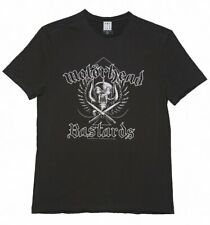 Amplified Motorhead Bastards Mens Charcoal T-shirt - Small