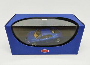 AUTOart 1:43 - Bugatti Eb 18.3 Chiron (Bleu) Bleu Neuf Edition Limitée