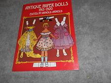 Book - Antique Paper Dolls - 1915 - 1920 Publ. 1975 By Arnold