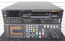 SONY HDW-F500 1080i, 23.98PsF HDCAM REC/PLAY 1431 DRUM HRS 90 DAY WARRANTY
