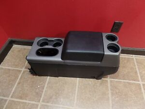 04 08 FORD F-150 F150 FRONT MIDDLE CONSOLE SEAT OEM BLACK FX2 FX4 STREET ROD