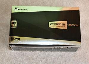 Seasonic SSR-1200PD 1200watt Platinum ATX power supply – Refurb / new!!