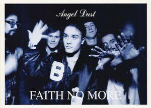 POSTER : MUSIC : FAITH NO MORE - ANGEL DUST  - FREE SHIPPING!   LW12 R