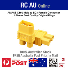 Best Quality XT60 Male to EC3 Female Connector Adapter Plug - 1 Piece