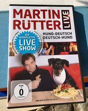 Martin RÜTTER live auf DVD *Hund-deutsch / deutsch-Hund* Die komplette Show