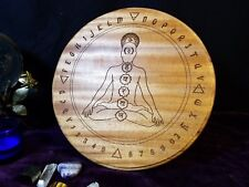 Chakra & Elements Pendulum Board - Mahogany