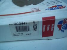 SET  OF   CARQUEST  PADS   PART  NUMBER    RCD841