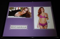 Riley Keough Signed Framed 16x20 Photo Set JSA The Girlfriend Experience