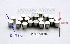 Triumph 37-83 BSA A65 set of 20 clutch hub roller bearings 57-0394 T394 42-3206