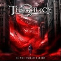 THEOCRACY - AS THE WORLD BLEEDS  CD NEW+