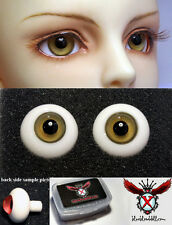 1/3 1/4 1/6 bjd 16mm fade yellow color high quality glass doll eyes dollfie A-10