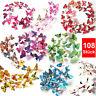 108 3D Schmetterlinge im bunten Mix Wanddeko Wandsticker Schmetterling Deko