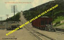 Reading Railroad RDG Frackville PA Mahanoy Plane 8½x11 postcard repro