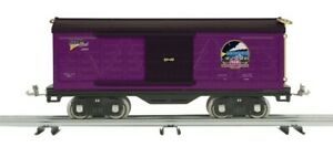 MTH Tinplate 500 Series Std. Gauge Box Car Purple & Black  10-2231 MTHRRC