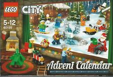 LEGO  CITY 60155 2017 ADVENT CALENDAR New Nib Sealed