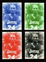 Kobe Bryant ACEO Pencil Sketch  (4) Card SET