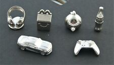 Monopoly Empire Metal Markers Angry Bird Coca Cola McDonald's Set of 6