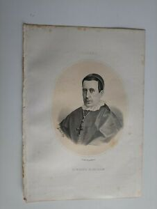 1867 Retrato: Tomás Iglesias Bárcones, Patriarca Indias Villafranca del Bierzo