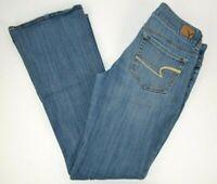 American Eagle Women's Artist Stretch Boot Cut Blue Jeans 8 Reg