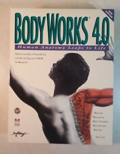 Body Works 4.0 Human Anatomy Leaps To Life for the Mac Cd Rom Virtual Reality