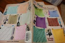 Asn Pattern Book 1309 Knit Dishcloth Sampler 12 patterns