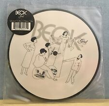"""BECK Girl 2005 UK 7""""  vinyl PICTURE DISC  single EXCELLENT CONDITION"""