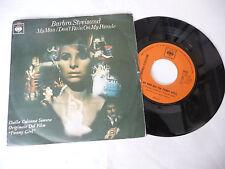 "BARBRA STREISAND""MY MAN-disco 45 giri CBS Italy 1969"" PERFECT-OST"