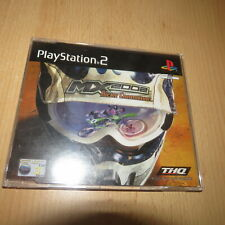 MX 2002 featuring Ricky Carmichael DEMO DISC PS2 UK PAL