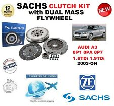 FOR AUDI A3 8P1 8PA 8P7 1.6 1.9 TDi CLUTCH KIT 2003-ON SACHS with FLYWHEEL BOLTS