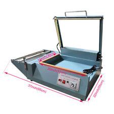 L-type Shrink Film Sealing Cutting Machine PVC Plastic Wrapping Bag Sealer 110V
