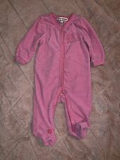 Juicy Couture Baby Girl Terry Footie 0-3M