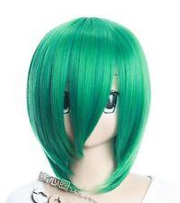 W-179 Katekyo HITMAN REBORN FRAN Cosplay Perücke Wig hitzefest glatt grün green