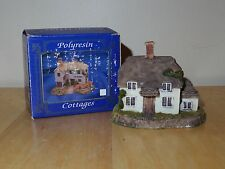 """Lincolnshire Collection Polyresin Cottages - 3 1/4"""" x 2 5/8"""" x 2 1/2"""" - Used/Vgc"""