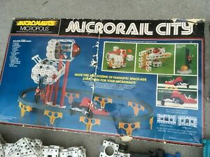 Micronauts VINTAGE 1976 Microrail Playset parts lot: plus Robotech parts