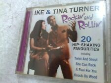 IKE & TINA TURNER - ROCKIN' AND ROLLIN'  -CD ALBUM - (R12)