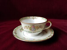 Noritake ALICIA Footed Cup and Saucer, c. 1921