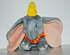 "DUMBO PLUSH Stuffed Animal Toy THE DISNEY STORE 8"" Circus Elephant VINTAGE"