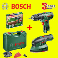 BOSCH Cordless 12V EasyImpact 12 & EasySander 12 with Battery / Charger & Case